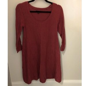 American eagle red knit dress